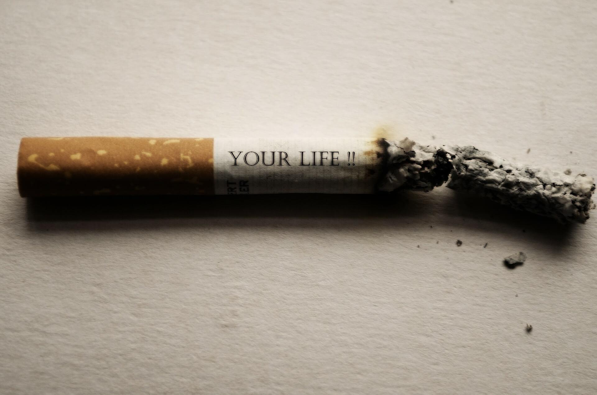 Rauchen aufhören   (Gewohnheiten ändern)